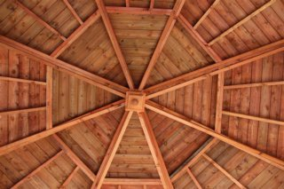 the spectacular douglas fir roof constructed by peter j skimming and son whithorn jpg